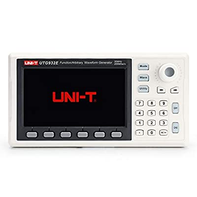 UNI-T UTG932E Function/Arbitrary Waveform Generator, 2 Channel, 30MHz, 200MSa/s Sample Rate