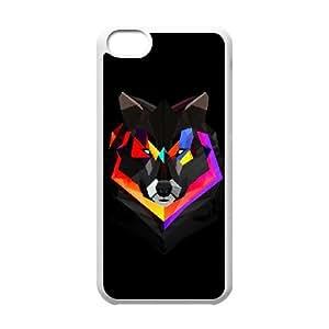 iPhone 5C Phone Case Mad Here Design Z3W4E9812