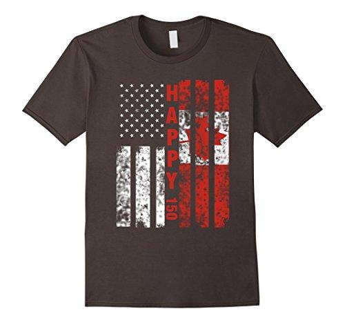 mens-canada-flag-t-shirt-canadian-america-flag-vintage-shirt-small-asphalt