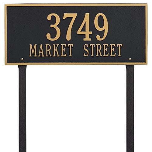 Estate Marker Address Sign - Whitehall 2 Line Hartford Estate Lawn Plaque-Personalization, Gift, Garden