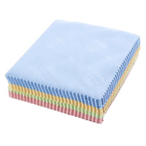 TOOGOO(R) 10X Microfibre Cleaning Cloth for Spectacles / Sunglasses, Camera lenses / CD's, DVD's, PDA's, Computer Screens / iPhones, iPads Screens --- 14CM x 14CM by TOOGOO(R) (Image #4)