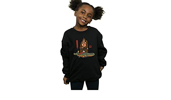 Vincent Trinidad Girls The Crocodile and The Gorilla Sweatshirt