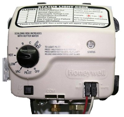 RELIANCE WATER HEATER CO 9007890 Honey LP Gas Valve