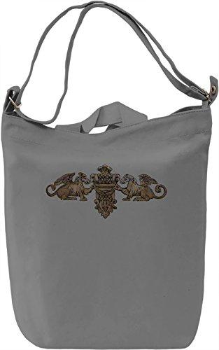 Native Sculture Borsa Giornaliera Canvas Canvas Day Bag  100% Premium Cotton Canvas  DTG Printing 
