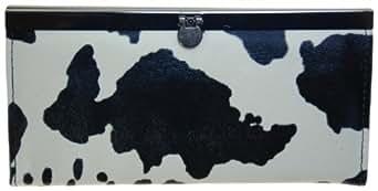Ladies Flat Opera Wallet #920000-7 (Black)