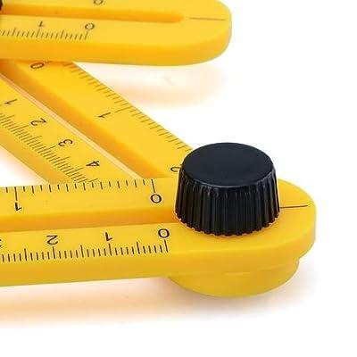 Multi-Angle Measuring Ruler Angle Izer Template Tool for Handyman Builders Craftsman DIY-ER