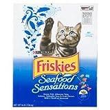 Friskies Cat Food Dry Fish 16 Lbs.
