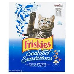 Friskies cat food dry fish 16 lbs sports for Friskies cat fishing