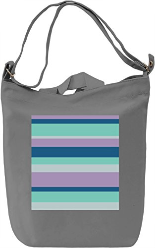 Abstract Colorful Lines Borsa Giornaliera Canvas Canvas Day Bag| 100% Premium Cotton Canvas| DTG Printing|