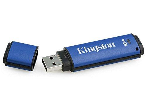 (Kingston Digital 16GB Data Traveler AES Encrypted Vault Privacy 256Bit 3.0 USB Flash Drive with ESET AV (DTVP30AV/16GB))