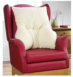 Lumbar Fleece Back Support Armchair Cushion Pillow to Help Ease Lower Back Pain (Single Pack Cream) Amazon.co.uk Health u0026 Personal Care & Lumbar Fleece Back Support Armchair Cushion Pillow to Help Ease ... islam-shia.org
