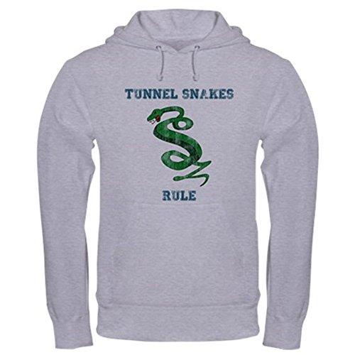 CafePress Tunnel Snakes Rule! Hooded Sweatshirt Pullover Hoodie,