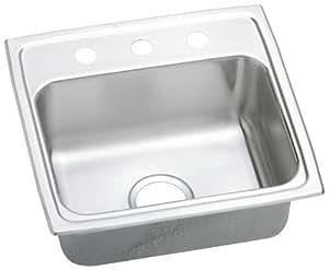 Elkay Psrq19183 Gourmet Pacemaker Sink Stainless Steel