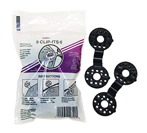 Clip-It 25-Pack Plastic Grommets