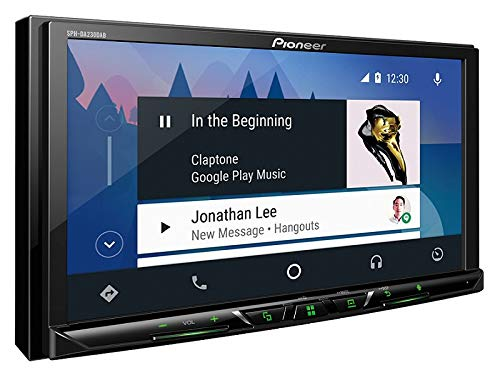 Einbauset f/ür Smart ForTwo A451 Facelift 2010-2015 Pioneer Radio SPH-DA230DAB 2DIN Apple CarPlay Waze mit Antenne