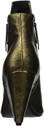 Boot York Heeled Galway Side Women's Zip Bootie New Cole Ankle Kenneth Gold Antique qnEvTT
