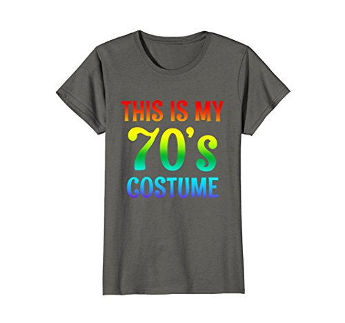 Womens 70s Costume Halloween Shirt for 1970s Party men women top Large (90's Fashion For Women Costumes)