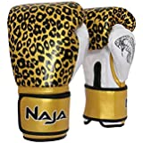 Luva de Boxe ANIMAL PRINT 12 OZ Onça Dourada NAJA