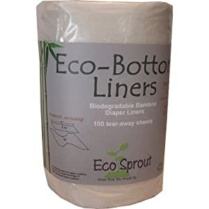 Eco Sprout Eco-Bottom Liners 100 Tear-Away Sheets