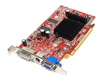Genuine Dell JH471 ATI Radeon X600 256MB DVI VGA S-Video DDR Full Profile PC PCI-E PCI-Express x16 Video Graphics Card Compatible Part Numbers: 102A3344700, JH471 ()