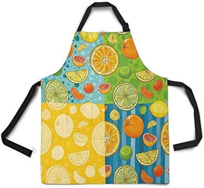 Amazon Com Ashasds Adjustable Bib Apron For Women Men Girls Chef Lemon Lime Orange Tangerine Grapefruit Juicy Citrus Fruit Kitchen Apron For Cooking Baking Gardening Grooming Cleaning Home Kitchen