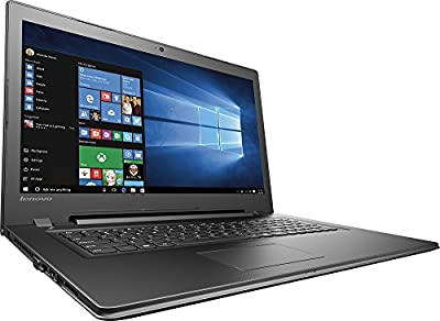 "2017 Newest Lenovo 17.3"" HD+ High Performance Premium Laptop, Intel Core i5-6200U Processor, 8GB RAM, 1TB HDD, Intel HD Graphics 520, DVD, HDMI, VGA, Bluetooth, 802.11ac, Webcam, Windows 10-Black"