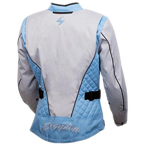 ScorpionExo Dominion Women's Textile Adventure Touring Motorcycle Jacket (Grey/Blue, XX-Large) by Scorpion (Image #1)