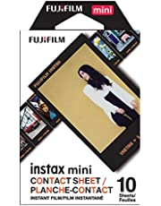 Fujifilm Instax Mini Contact Sheet Film - 10 Exposures