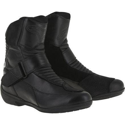 Alpinestars Women's Stella Valencia Waterproof Boots - 9 US / 41 Euro/Black