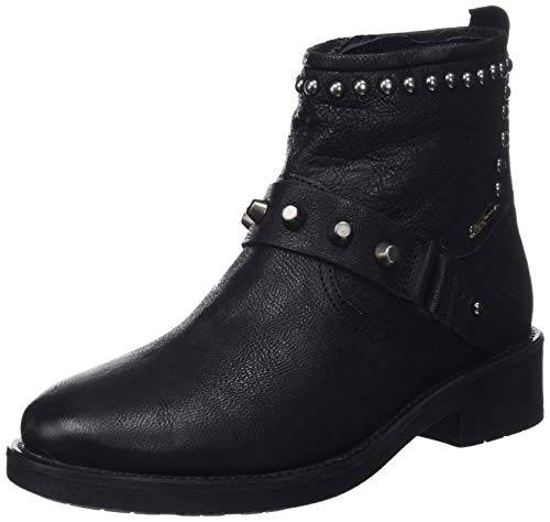 Ring 999 black Maddox Botines Noir Jeans Pepe Femme 0FHnEE