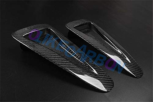 OLIKE for Nissan Skyline GTR35 GT-R R35 Carbon Fiber Hood Bonnet Scoops Vents Hood Air Vent