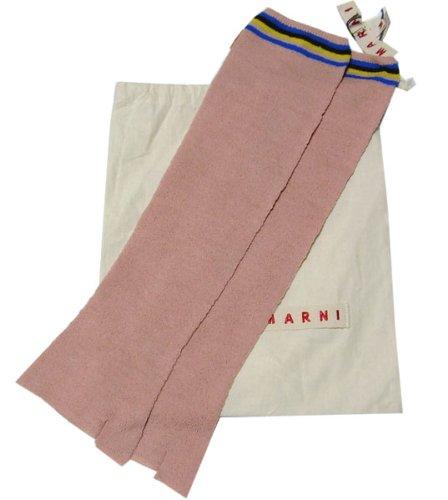 [マルニ] MARNI ロング手袋(指なし)  ピンク Mサイズ (並行輸入品)