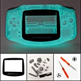 New Full Housing Shell Cover Case Pack for Nintendo Gameboy Advance GBA Repair Part-Glow in The Dark