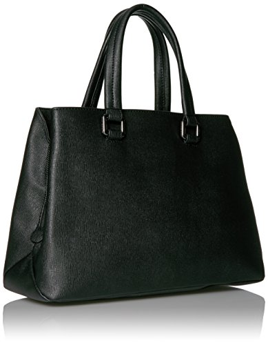 A|x Armani Exchange Saffiano Satchel Black 942039 6a058