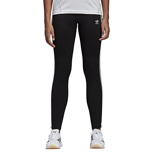 9fd64e40f4a SHOPUS | adidas Originals Women's 3-Stripes Leggings, Black, Medium