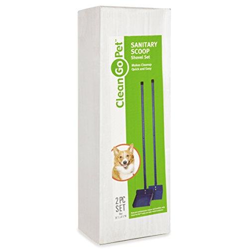 Clean-Go-Pet-Sanitary-Dog-Poop-Scoop-Shovel-Foldable-Easy-Storage-Blue