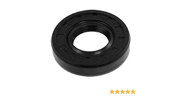 uxcell Spring Loaded Metric Rotary Shaft TC Oil Seal Double Lip 20x40x8mm