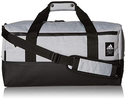adidas Amplifier Duffel Bag, CD. Grey/Black, One Size