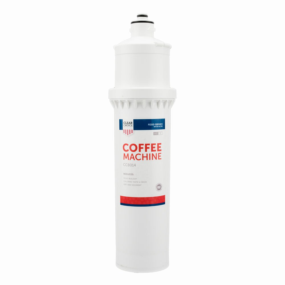 Clear Choice Coffee, Tea Filtration System Replacement Cartridge for Everpure 7CB5-S EV9272-00 EV9606-01 EV9618-21 EV9618-26 Also Compatible with EcoLab 9320-2411, Pentair 7CB5-S EV9618-21, 1-Pack