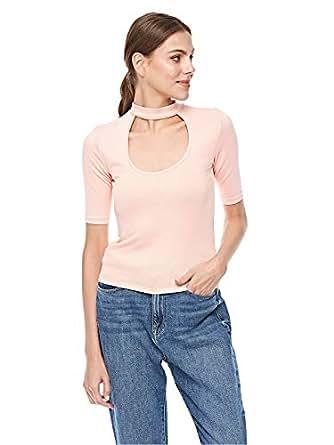 Bershka Blouses For Women, Pink M