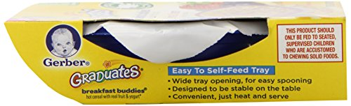 Gerber Graduates Breakfast Buddies Cereal, Berries Cream, 4.5 Ounce, 8 Count