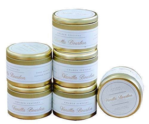 - Bloom & Prosper Travel Tin Jar 5 oz Candle Vanilla Bourbon (6)