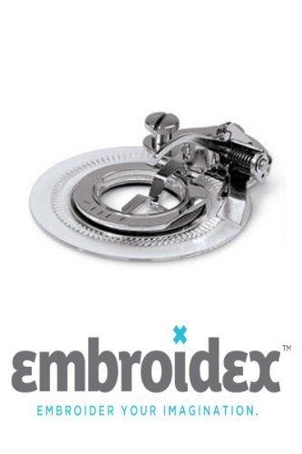 Embroidex - Prensatelas para máquina de Coser de Flores para máquina de Coser de vástago bajo