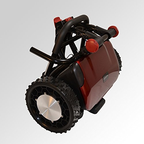 FTR Caddytrek R2 Red Robotic Electric Golf Cart Caddy Trek