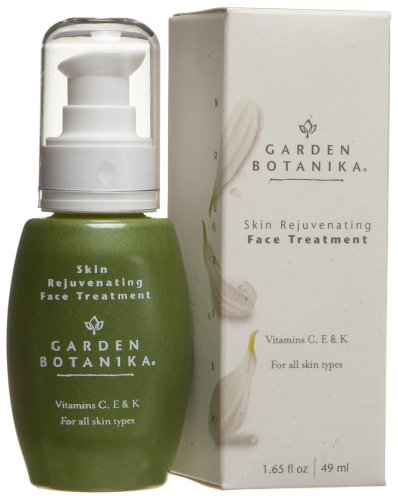 Skin Rejuvenating Face Treatment - Garden Botanika Skin Rejuvenating Face Treatment, 1.65-Ounce Bottles