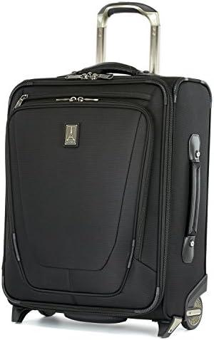 Travelpro Crew 11-Softside Expandable Rollaboard Upright Luggage, Black