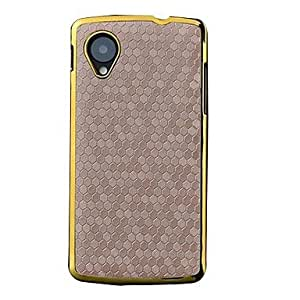 Football Lines Pattern PU Case for Google Nexus 5 (Assorted Colors)
