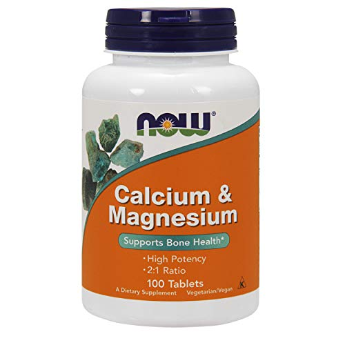 NOW FOODS Cal Mag 500/250mg, 100 CT