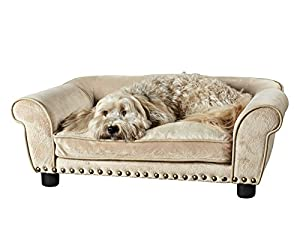 B00KBTGS5GYNW Enchanted Home Pet Dreamcatcher Dog Bed, 33.5 by 21 by 12.5-Inch, Caramel