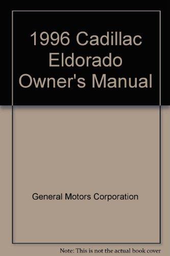 1996 Cadillac Eldorado Owner's Manual